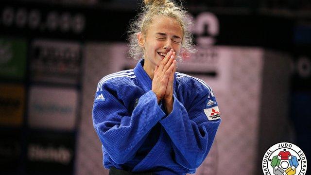 18-річна Дарія Білодід виграла чемпіонат світу з дзюдо