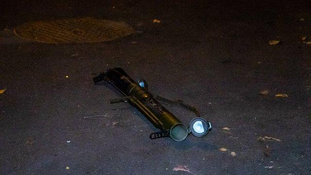 У Києві невідомі обстріляли з гранатомета будівлю «Мостобуду»