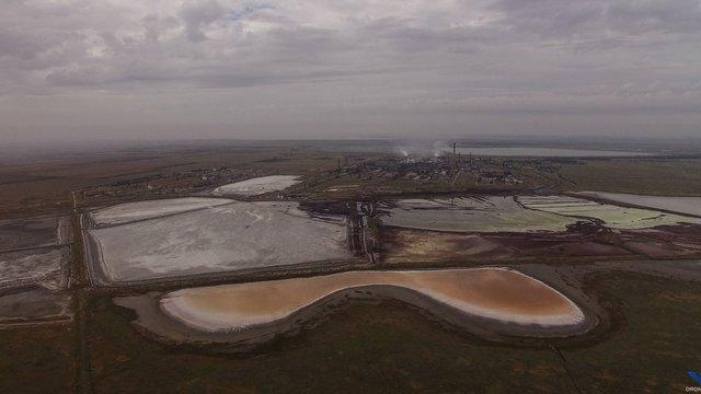 В окупованому Криму знову зафіксували хімічні викиди на заводі в Армянську