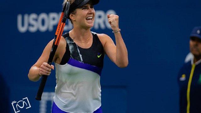 Українка Еліна Світоліна вперше прорвалася до чвертьфіналу тенісного турніру US Open