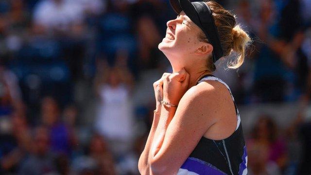 Українка Еліна Світоліна вперше в кар'єрі вийшла до півфіналу тенісного турніру US Open