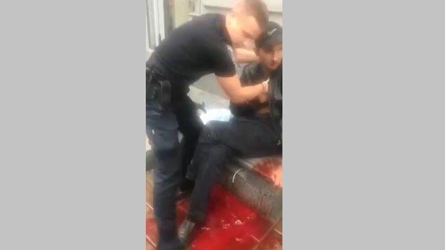 Поранений ножем 35-річний львів'янин відмовився писати заяву у поліцію