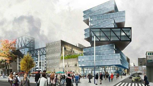Львівська мерія дозволила будівництво 14-поверхового офісу зі зміщеними поверхами