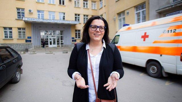 Директорка львівського ОХМАТДИТу Мар'яна Возниця написала заяву на звільнення