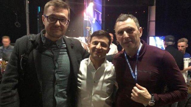 Перший помічник Зеленського та голова СБУ привітали олігарха Григорія Суркіса з ювілеєм