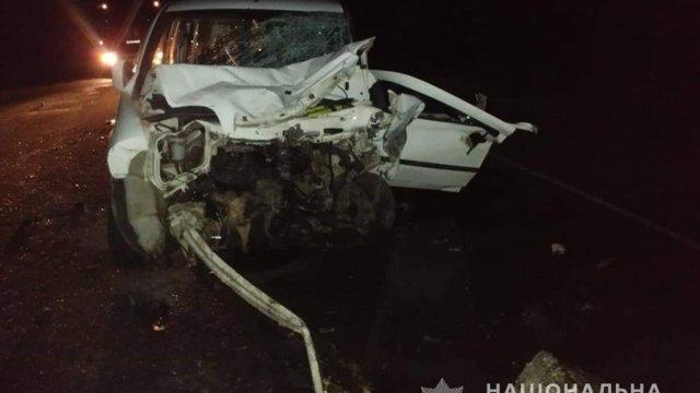 Військовий, іноземка і двоє українців загинули в ДТП біля Мелітополя