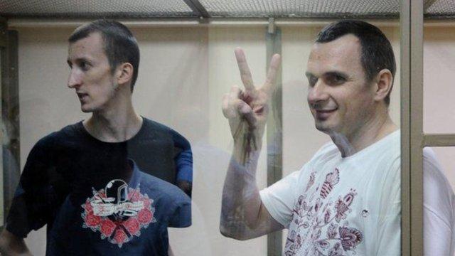 Колишнім політв'язням Сенцову й Кольченку надали тимчасове житло