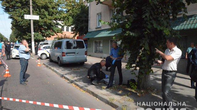 В Житомирі під час нападу на інкасаторів поранили поліцейського з Волині