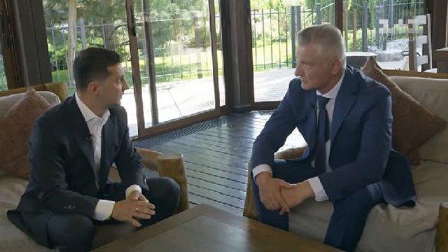 Інтерв'ю Зеленського про 100 днів президентства оплатив «Квартал 95»