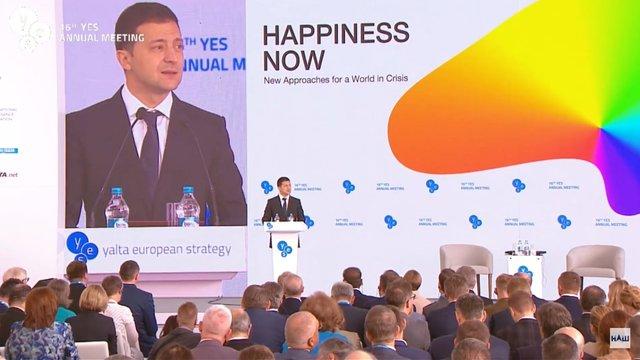 Зеленський пропонує збудувати на березі Чорного моря нове місто-курорт