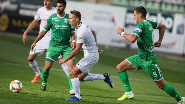 «Карпати» перемогли «Ворсклу» у дебютному матчі нового тренера