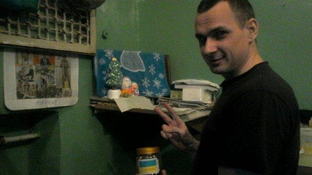 Олег Сенцов показав єдине фото з російської в'язниці