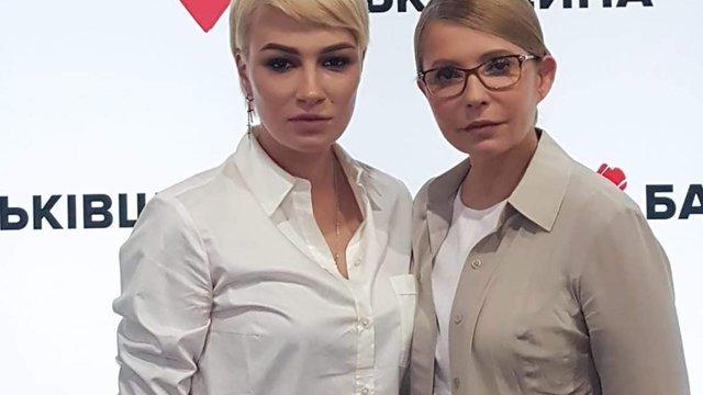 Співачка Анастасія Приходько вийшла з «Батьківщини» після поразки на виборах