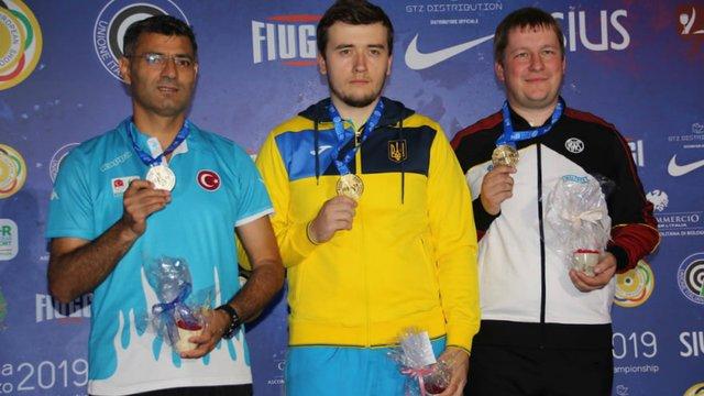Львів'янин Павло Коростильов став чемпіоном Європи зі стрільби