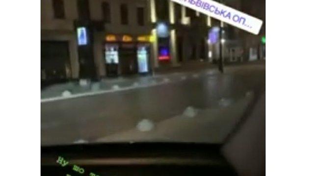 Поліція відреагувала на скандальне відео львівського військового в Instagram