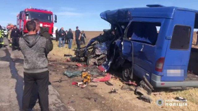 Винуватцем ДТП на Одещині з дев'ятьма загиблими став водій вантажівки