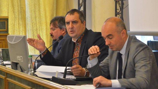 Заступник голови Львівської облради закликав до загальної відставки президії