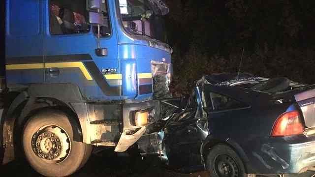 На Рівненщині у ДТП з вантажівкою загинув 56-річний львів'янин