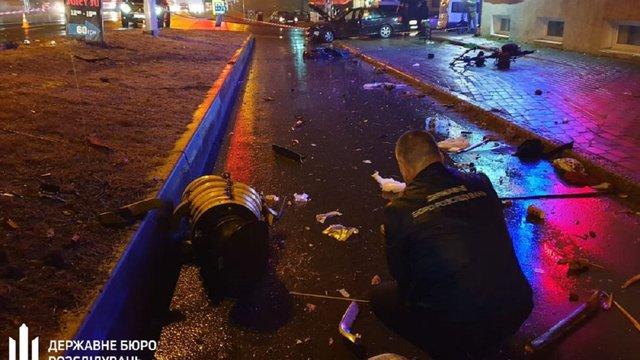 ДБР опублікувало відео смертельної ДТП у Броварах, яку вчинив п'яний працівник поліції охорони