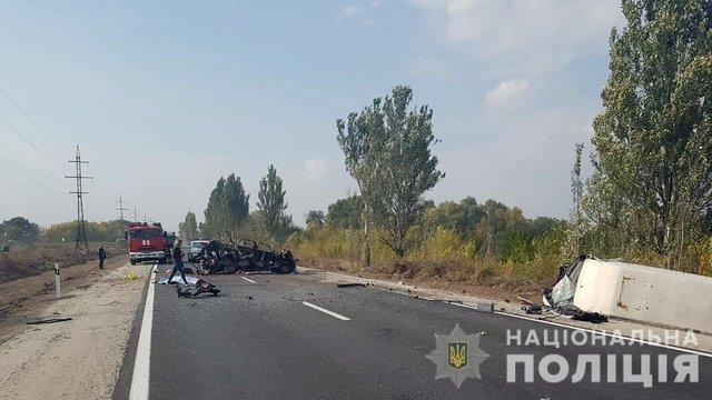 У Запорізькій області у ДТП загинуло двоє людей, ще двоє постраждали