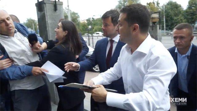 НСЖУ закликала прес-секретарку Зеленського вибачитися за свою поведінку з журналістами