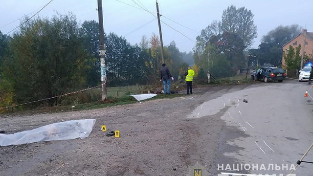 П'яний водій на смерть збив двох 23-річних чоловіків на Тернопільщині