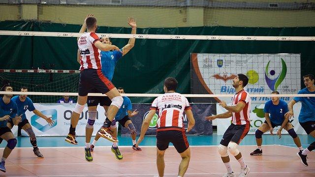 Польська команда виграла Відкритий кубок Львова з волейболу