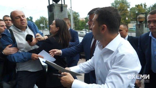Відомий журналіст звернувся у поліцію з заявою на прес-секретарку президента Юлію Мендель