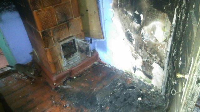 Унаслідок пожежі у приватному будинку 66-річна львів'янка отримала опіки