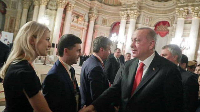 Президент Туреччини вперше прийняв російську делегацію з «депутатами» з окупованого Криму