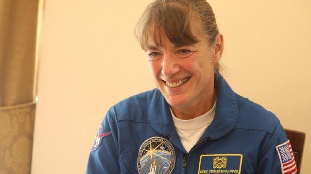 До Львова приїхала відома американська астронавтка українського походження