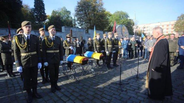 На Личаківському кладовищі перепоховали двох воїнів УПА