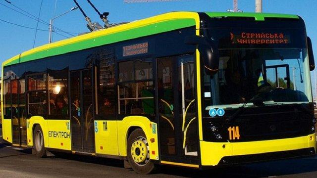 Львів отримає 10 нових тролейбусів «Електрон» 4 листопада