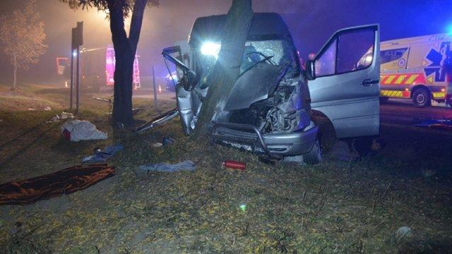 В Угорщині розбився мікроавтобус з українцями, 10 постраждалих