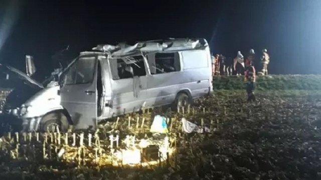 Українці потрапили в автомобільну аварію у Чехії, 10 постраждалих