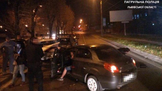 Нетверезий водій спричинив масову ДТП у Львові