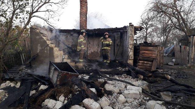 Під час пожежі у Жовківському районі загинув чоловік