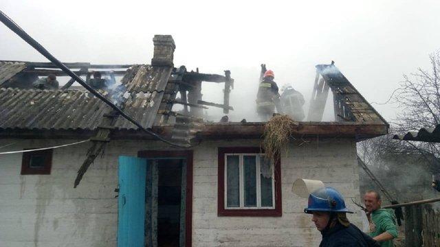 На Рівненщині в пожежі загинула 5-річна дитина
