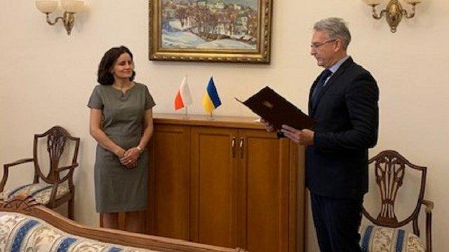 Еліза Дзвонкєвіч очолила генеральне консульство Польщі у Львові