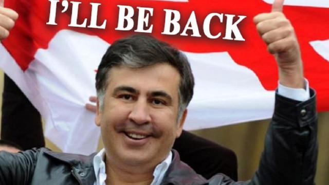 У Грузії хакери зламали сайт президента та додали фото Саакашвілі з написом I'll be back