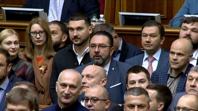 У Верховній Раді заблокували трибуну через заяви львівської депутатки Софії Федини
