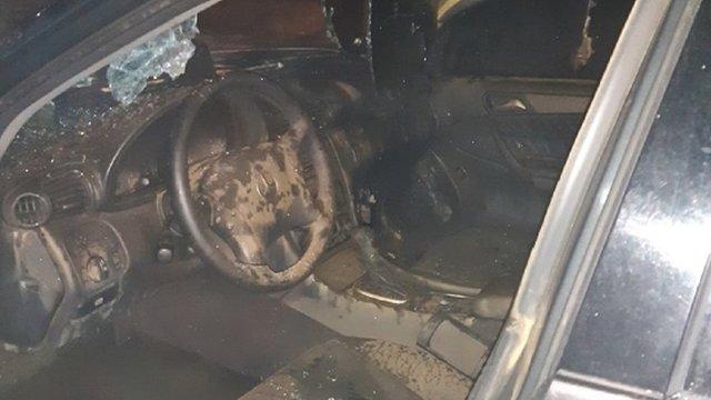 У Львові на вул. Княгині Ольги вночі згоріли два автомобілі