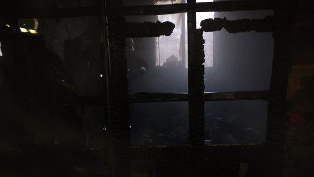 Внаслідок пожежі в будинку у Бродах обвалилося перекриття між поверхами