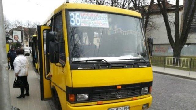 У Львові приватний перевізник не виїхав на маршрут №36