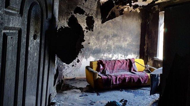 Сім'я з сімома дітьми у Бродах залишилась без житла після пожежі