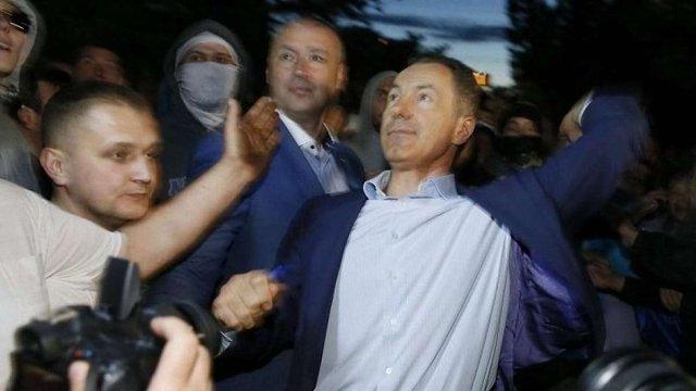 Справу про напад екс-міністра транспорту України на посольство РФ передали до московського суду