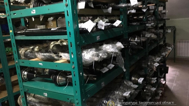 Закарпатський інтернет-магазин автозапчастин запідозрили у несплаті 10 млн грн податків