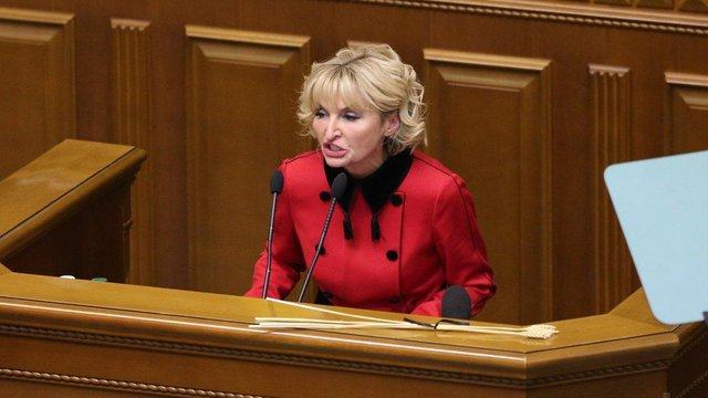 Ірина Луценко відмовилась від депутатського мандата через стан здоров'я – ЗМІ