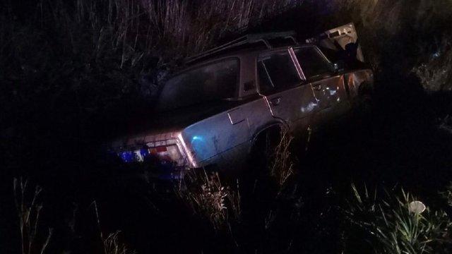 Рятувальники вивільняли водія з автомобіля, який з'їхав у кювет у передмісті Львова