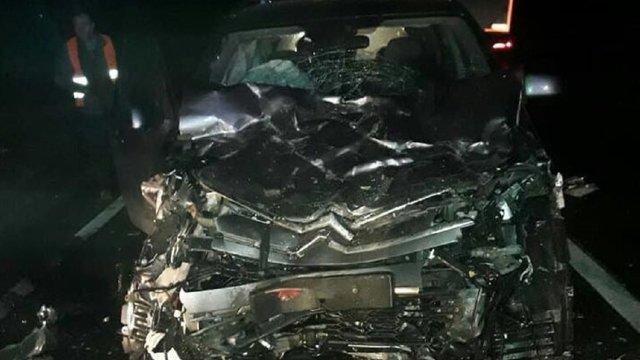 Унаслідок ДТП на трасі Львів–Луцьк біля Радехова загинули водій та двоє пасажирів